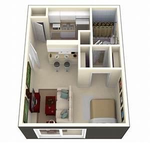 50, Studio, Type, Single, Room, House, Lay