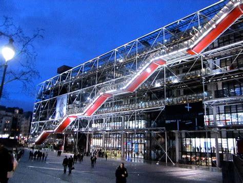 The Centre Georges Pompidou  Paris (france)  World For