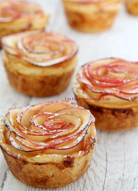 recette dessert au pomme tartelettes roses de pommes les gourmandises de lou