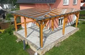 Terrassenüberdachung über Eck : zimmerei holzbau sebastian hoffmann dresden mit holz bauen ~ Whattoseeinmadrid.com Haus und Dekorationen