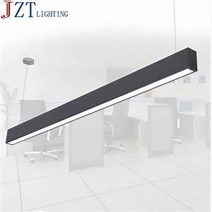 Plafonnier Pour Bureau : m 118 cm bureau led en aluminium rectangulaire plafonnier ~ Edinachiropracticcenter.com Idées de Décoration