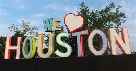 We Love Houston Sign Location