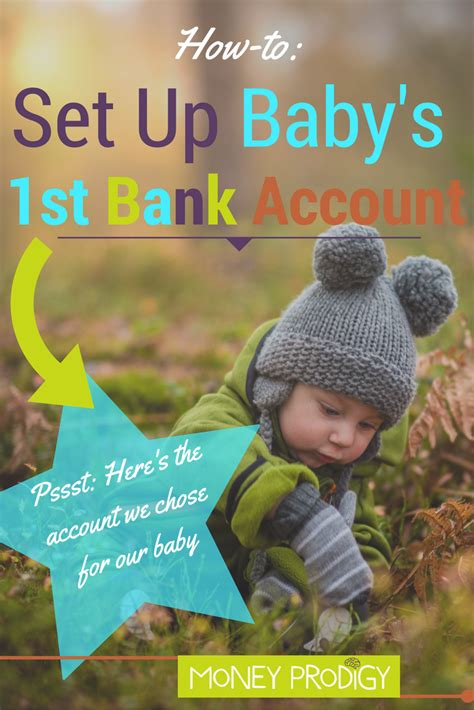 setting  bank account  baby heres