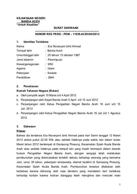 contoh surat tuntutan cerai fasakh surat 34