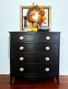 Black Pepper Chalk Style Paint Dresser General Finishes