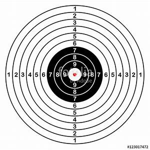 U0026quot Blank Template For Sport Target Vector Shooting