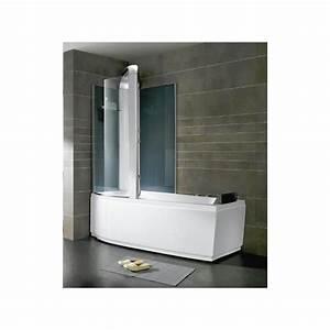 Baignoire Douche Balneo : combin douche baignoire baln o alexie 160cm or9501b ~ Melissatoandfro.com Idées de Décoration