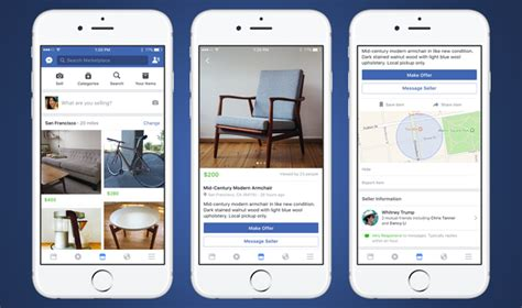 Facebook Launches Marketplace To Let Users Buy And Sell