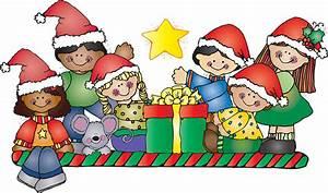 Santa clipart child - Pencil and in color santa clipart child