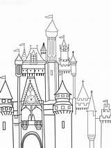Castle Coloring Disney Pages Drawing Cinderella Sketch Deviantart Printable Drawings Boys Print Viewing sketch template