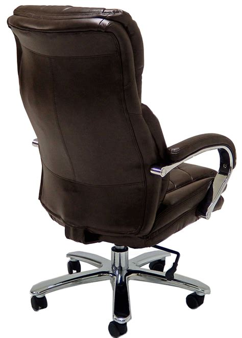 lbs capacity leather executive big tall chair