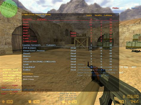 counter strike couteau