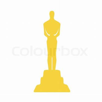 Award Clipart Movie Oscar Statue Clip Trophy