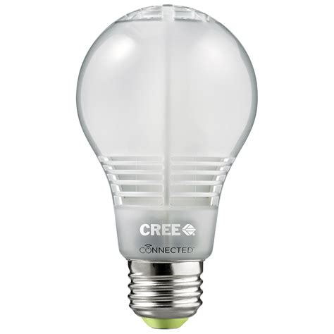 wink help cree connected 60w replacement led bulb