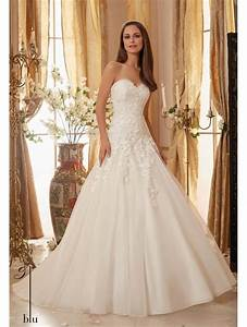mori lee 5470 dropped waist lace strapless ball gown ivory With shop designer wedding dresses