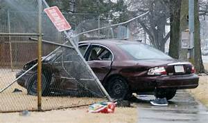 Car crashes through middle school fence | Local ...