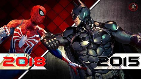spiderman ps    year  batman game youtube