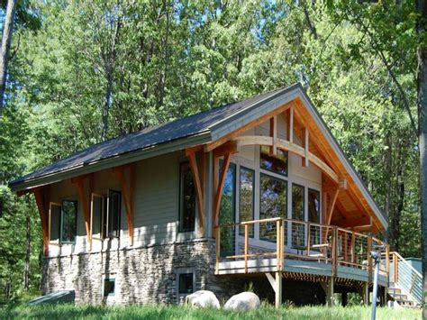 simple timber frame cabin small timber frame cabin kits small mountain cottage plans