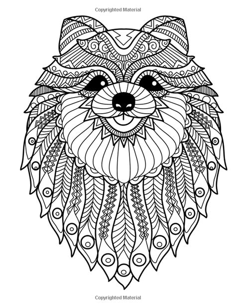 doodle dogs coloring books for grownups featuring over 30