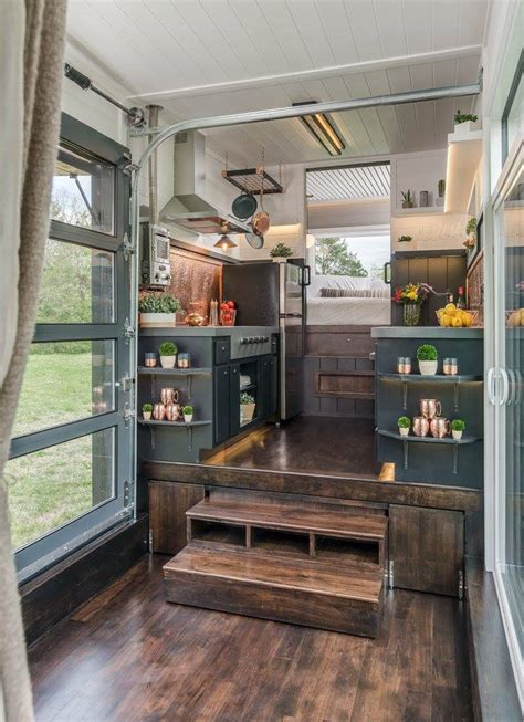 tiny house town  escher   frontier tiny homes