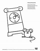 Dickory Speakaboos Rhymes Blt Learners Daycare sketch template