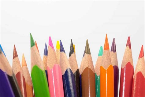 electric pencil sharpener  colored pencils art zone