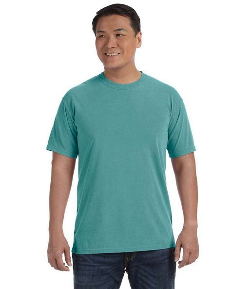 seafoam comfort colors comfort colors c1717 ringspun garment dyed t shirt