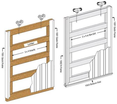 How To Frame A Barn Door by Sliding Door Frames Sliding Door Pros Llc 740 972 2275