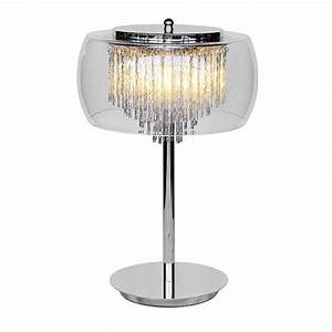 glass shade contemporary chandelier table lamp by made ...
