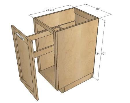Trash Can Cupboard by Diy Pull Out Trash Can In A Kitchen Cabinet Amazing Idea