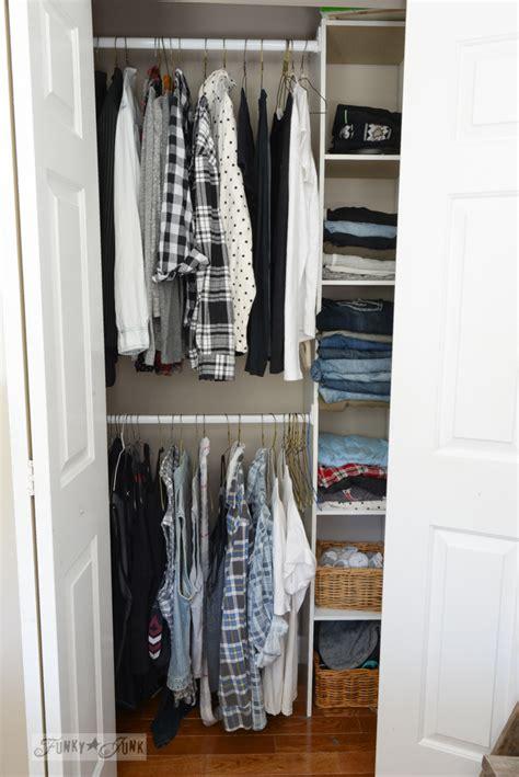 build  easy clothes closet    kitfunky