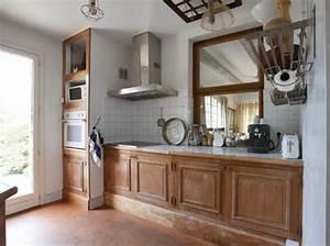 Transformer Une Cheminée Rustique En Moderne : transformer une cuisine rustique se renov ~ Farleysfitness.com Idées de Décoration