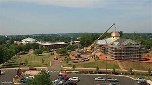 Dome placed on ... Liberty University