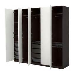 small bathroom shelving ideas pax wardrobe black brown vinterbro white 250x60x236 cm ikea