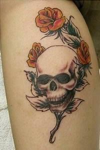 Tattoo Leben Und Tod : 83 sch del und totenkopf tattoos ~ Frokenaadalensverden.com Haus und Dekorationen