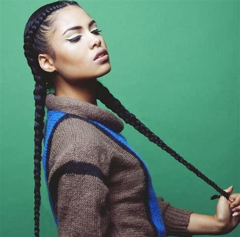 idees de coiffures afro pour le sport stylees