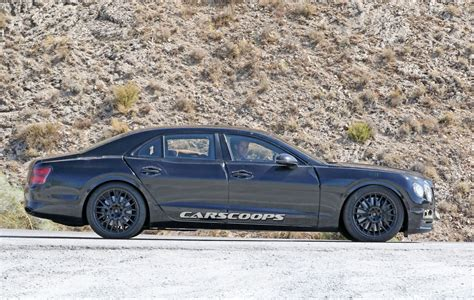 2019 bentley flying spur bringing continental swag with four doors carscoops