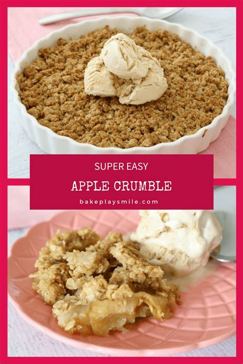 Apple Crumble Best Recipe Best 25 Apple Crumble Recipe Ideas On Easy