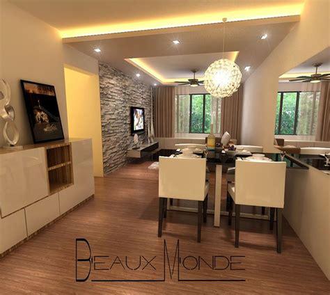 living room design   filipino client false ceiling