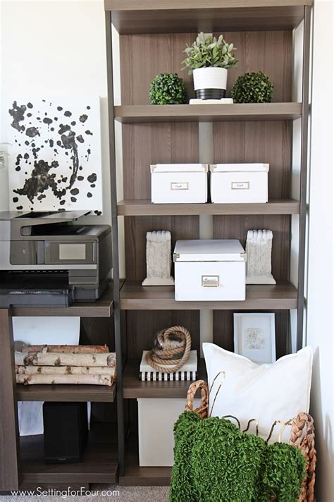 home office furniture ideas  storage setting