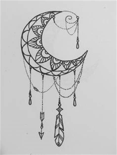 B&W Moon Mandala Design #art #creative #drawing #mandala #moon #zentangle #tattoo#young_artists
