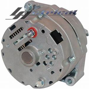 New Alternator For Gm Chevy Hotrod Three 3 Wire 9 O U0026 39 Clock
