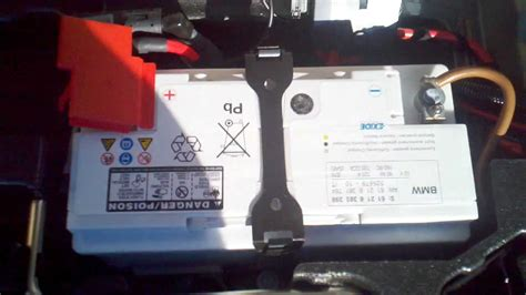 Bmw X3 Battery Replacement Instructions