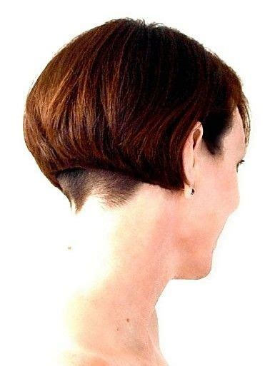 undercut bob  clippered nape rhondas hair cuts