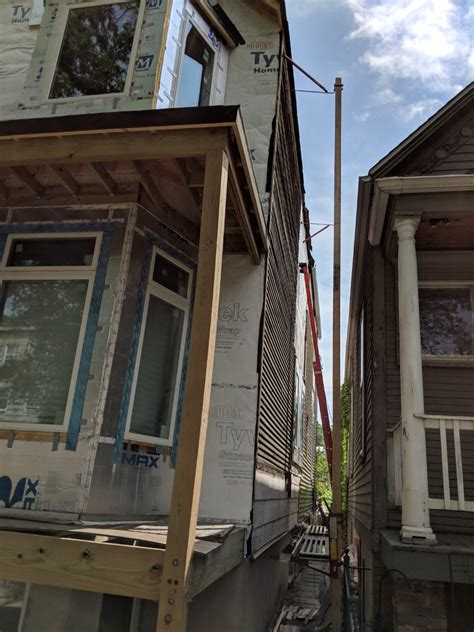 siding removal  flat remade