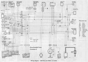 Honda C50 C70e C90eg Wiring Schematic
