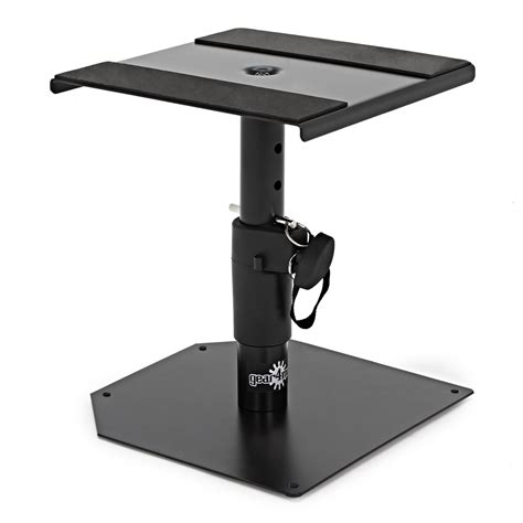 studiol staand desktop monitor speaker stands by gear4music pair at
