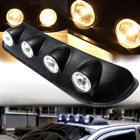 lights on top of truck h3 12v 55w roof top combined lights fog l for