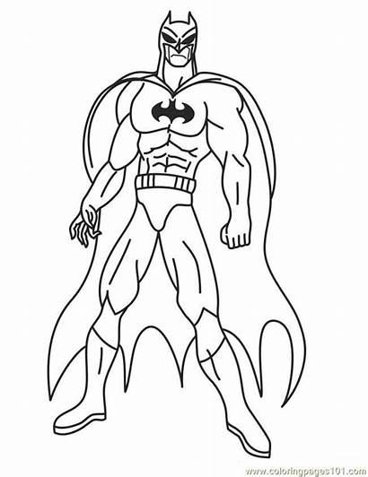 Superhero Coloring Printable Pages Superheroes Heroes Super