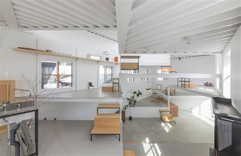 Tato Architects Designs House In Miyamoto As A Single Room